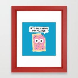Tart Therapy Framed Art Print