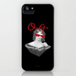 Mary Shelley, the Original Goth iPhone Case
