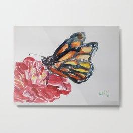 Royal Butterfly Metal Print