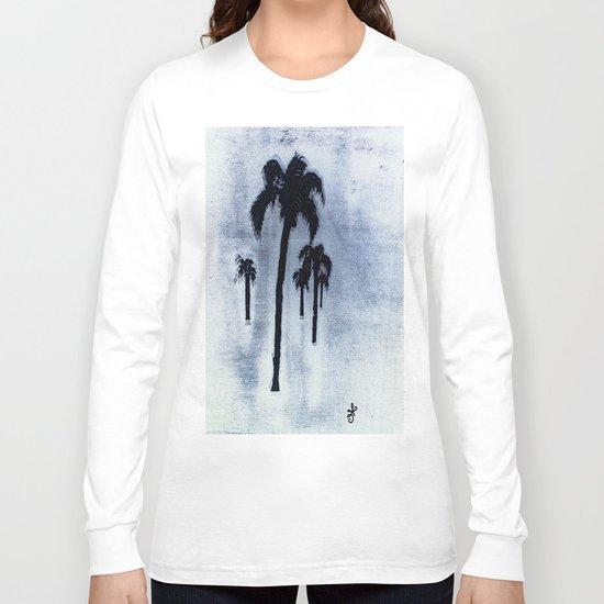 Shaking Those Trees, Caribbean Long Sleeve T-shirt