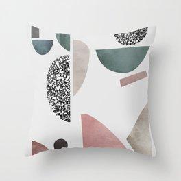 Mosaic 1 Throw Pillow