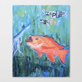 Snapper's Delight Canvas Print