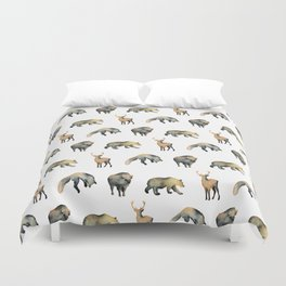 Forest Pattern Duvet Cover