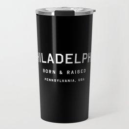 Philadephia - PA, USA (Arc) Travel Mug
