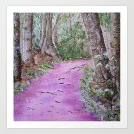 Spring Trail Art Print