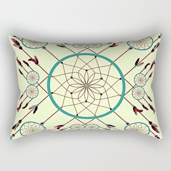 Dream Catching Rectangular Pillow