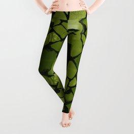 Mosaic - Fern Green Leggings