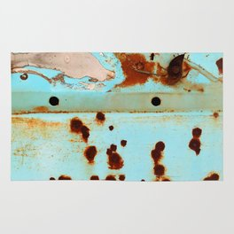 Riddled with Rust Original Rug