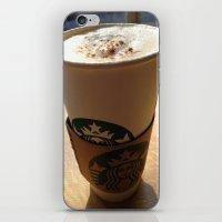 starbucks iPhone & iPod Skins featuring Starbucks by Josj