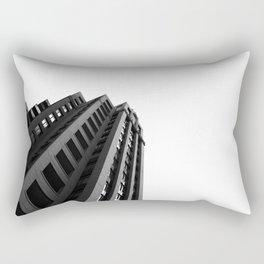 Architecture Minimalism Black and White Photography Rectangular Pillow
