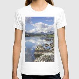 Lake Mymbyr and Snowdon T-shirt