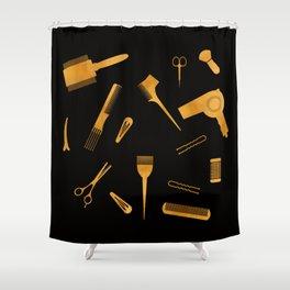 Hair Beauty Shower Curtain