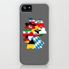 germany regions flag map Slim Case iPhone (5, 5s)