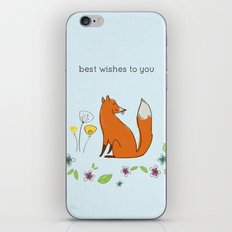 Best wishes to you iPhone Skin