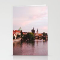 prague Stationery Cards featuring PRAGUE by Megan Robinson