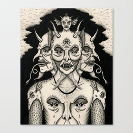 Weeping Demon Canvas Print