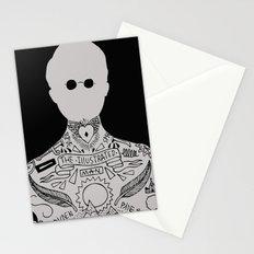 the illustrated man - bradbury Stationery Cards