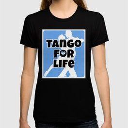 Tango for Life Argentina Flag Heart T-shirt