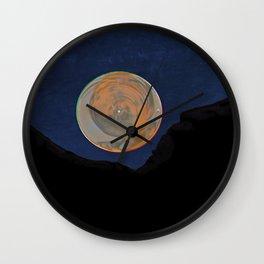 Morning of the Vortex Moon Wall Clock