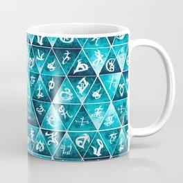 Blackthorn Family Motto Mosaic Coffee Mug