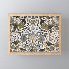 Morris & Co - Pattern Print - Lodden (1884) Framed Mini Art Print