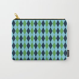 Retro plaid Carry-All Pouch
