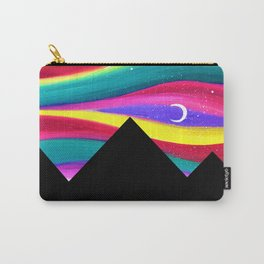 Moonlight Magic - Pyramids Silhouette Carry-All Pouch