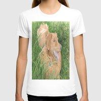 conan T-shirts featuring Golden Retriever Conan by Yvonne Carter