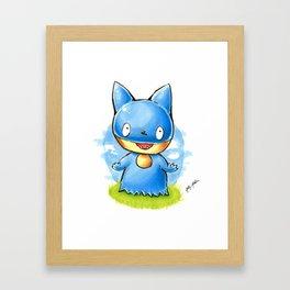 Munchlax Framed Art Print