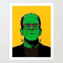 Lichtenstein's Monster Art Print