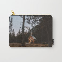 VALLEY CHAPEL AT 6AM Carry-All Pouch