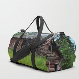 Alaskan Frontier Cabin Duffle Bag