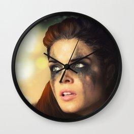 Octavia Blake. Marie Avgeropoulos The 100 Wall Clock