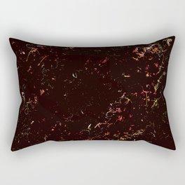 Spring black pink Rectangular Pillow