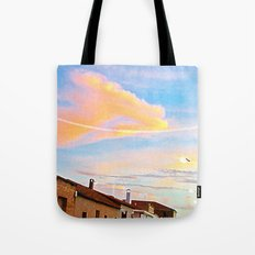 Pueblo Moon Tote Bag
