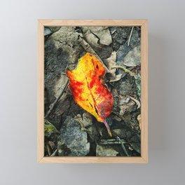 Lit Match Framed Mini Art Print
