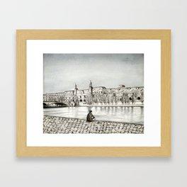 La Seine II Framed Art Print
