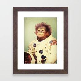 Space Cadet Framed Art Print