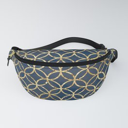 The Geometric Abstract Pattern Fanny Pack