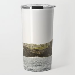Lighthouse in Portland, Maine. Travel Mug