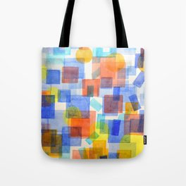 Different Things Fall Differently Tote Bag