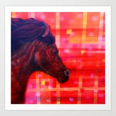 War Horse 2 Art Print