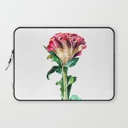 Pink Celosia Laptop Sleeve