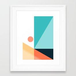 Geometric 1709 Framed Art Print