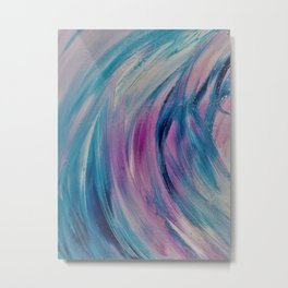 Color Swirl Metal Print