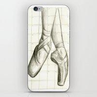 ballet iPhone & iPod Skins featuring Ballet by The Artsy Sand Piper