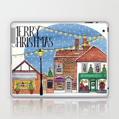 Special Edition Holiday Print: Merry Christmas by Charlotte Vallance Laptop & iPad Skin