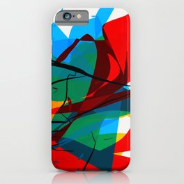 Abstract art made by Thimeo 19 months iPhone Case