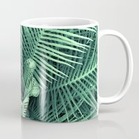 fern Mugs featuring Fern by ravynka