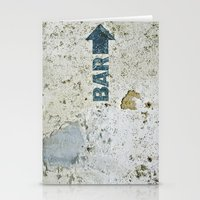 bar Stationery Cards featuring BAR by ollily